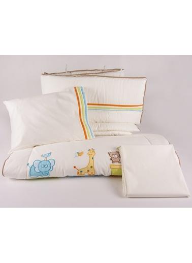 Safari Park Yatak Uyku Setı (Kenar Korumalı 6 Parça)-Aybibaby